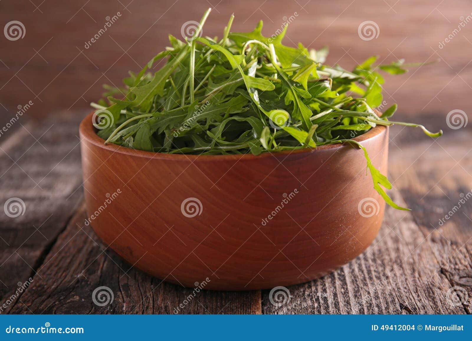 Download Arugula stockfoto. Bild von hintergrund, gesund, cuisine - 49412004