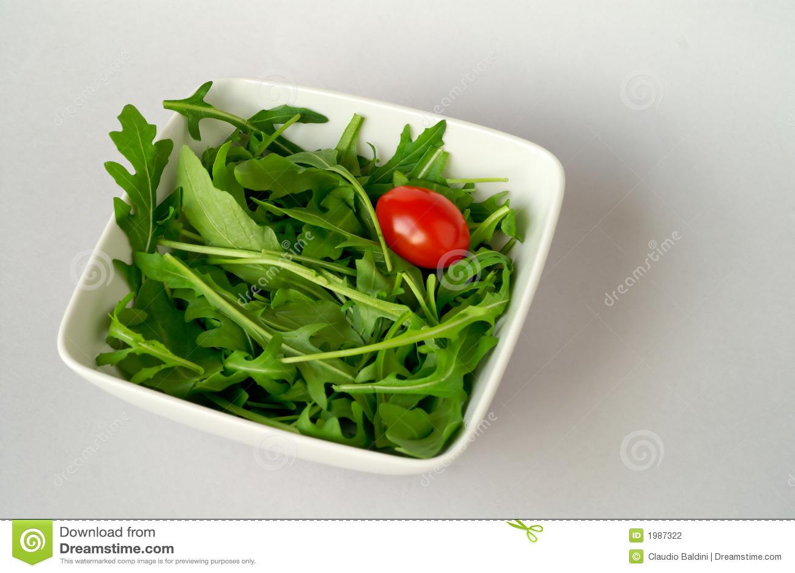 Arugula sałatkę