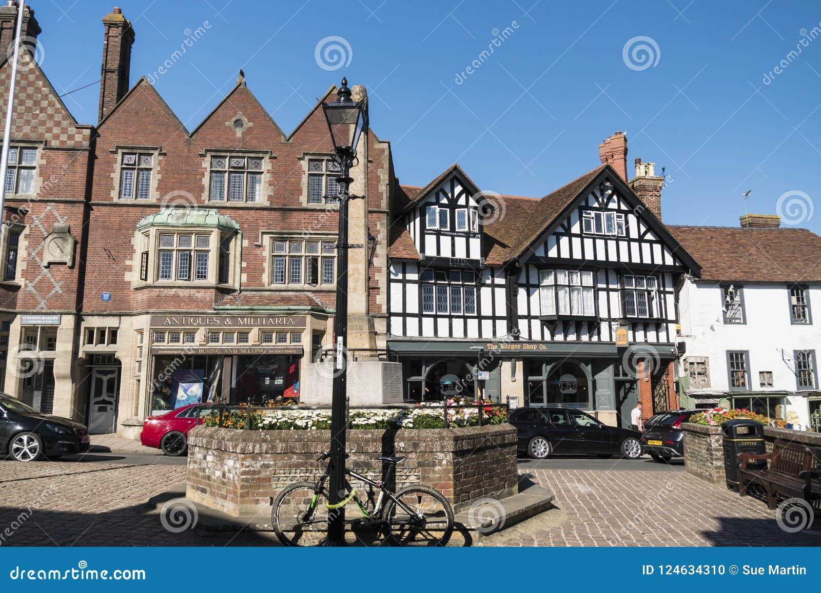 Arundel Town, West Sussex UK Editorial Image - Image of britain