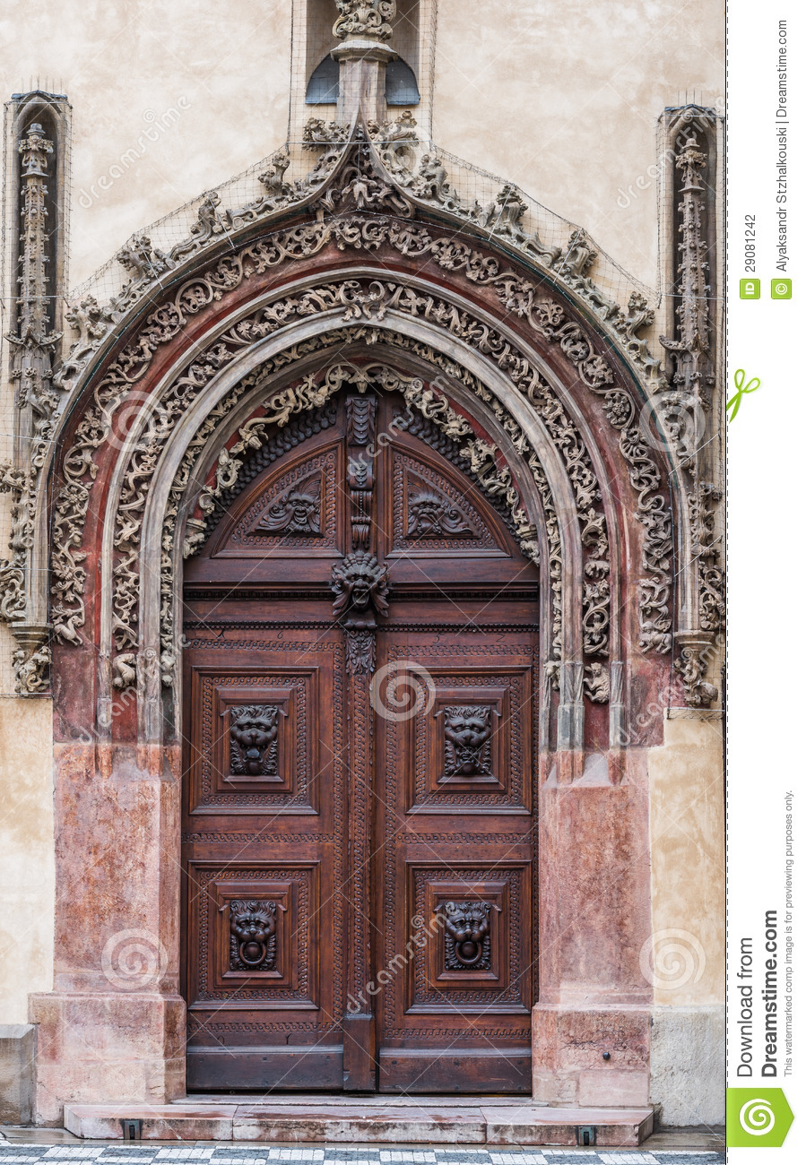 Arved closed door stock photography image 29081242 for Door z prague