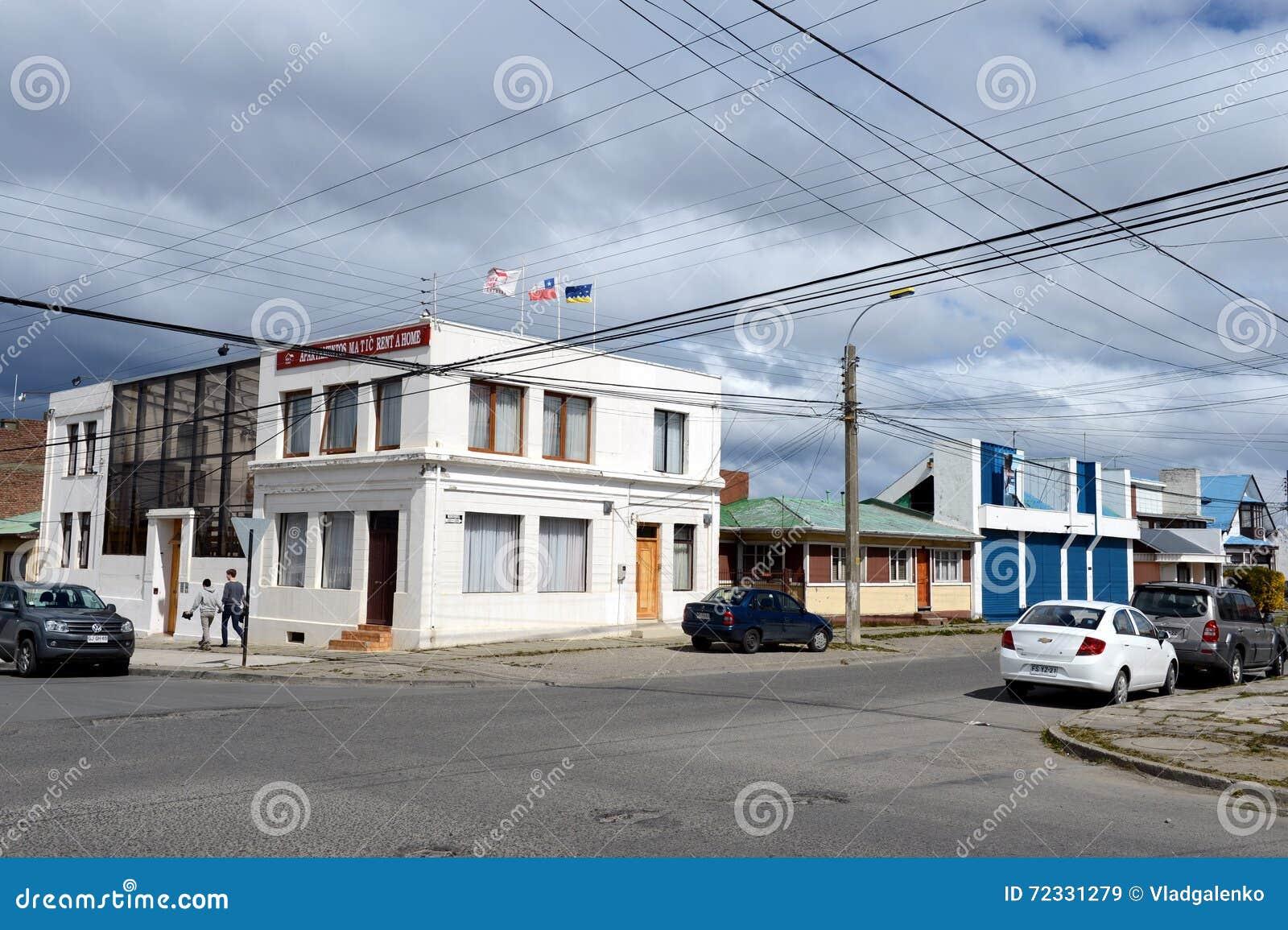 As arenas de Punta são uma cidade no Chile