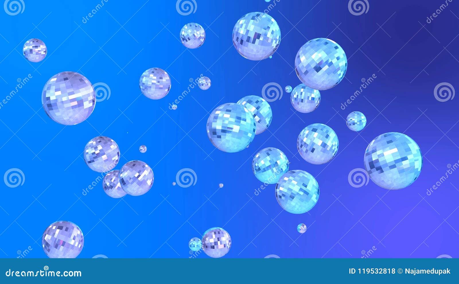 3b99b5f2a978a As bolas de brilho e refletindo do disco modelam ou o fundo do partido de  disco do promo do projeto do cartaz