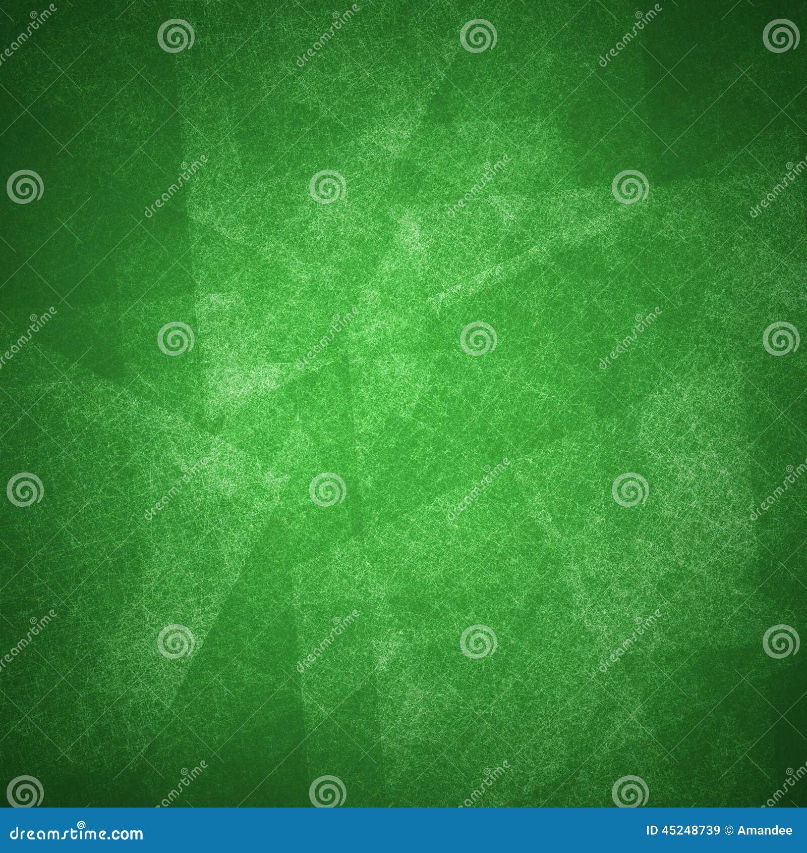 As camadas e a textura verdes abstratas do fundo projetam a arte
