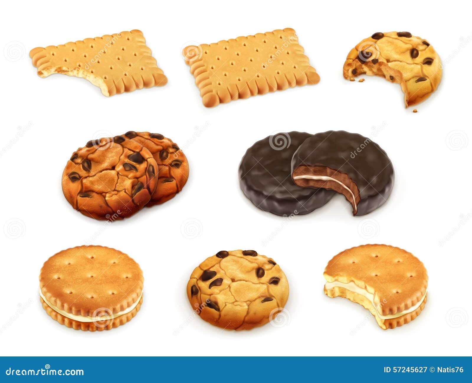 As cookies vector o grupo