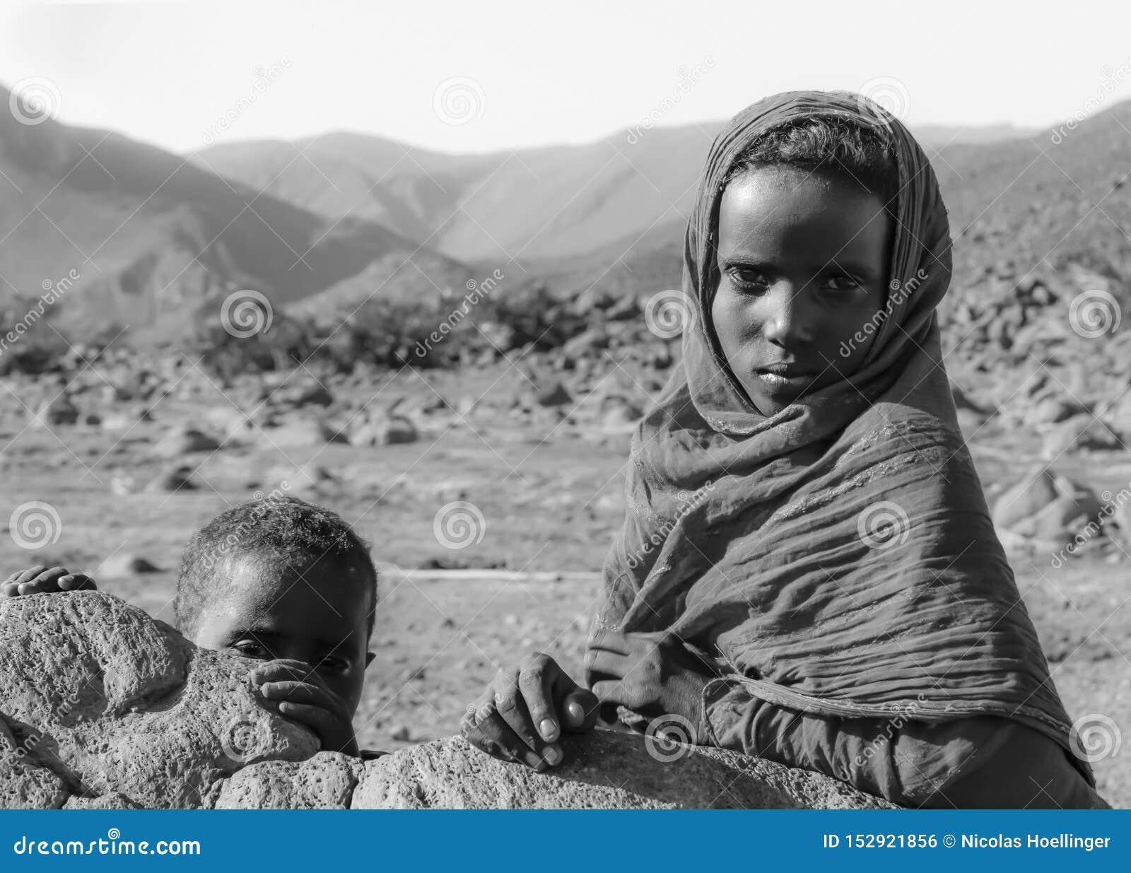 As crianças do deserto
