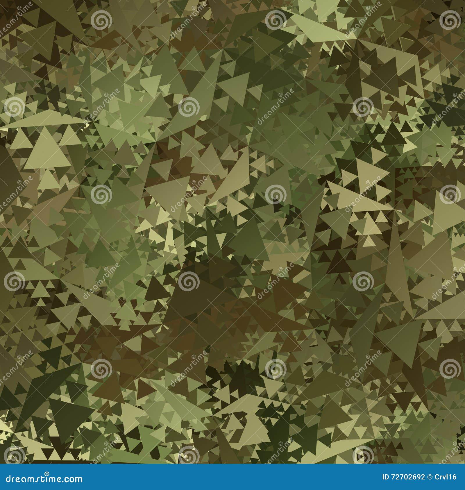 As forças armadas abstratas do vetor camuflam o fundo