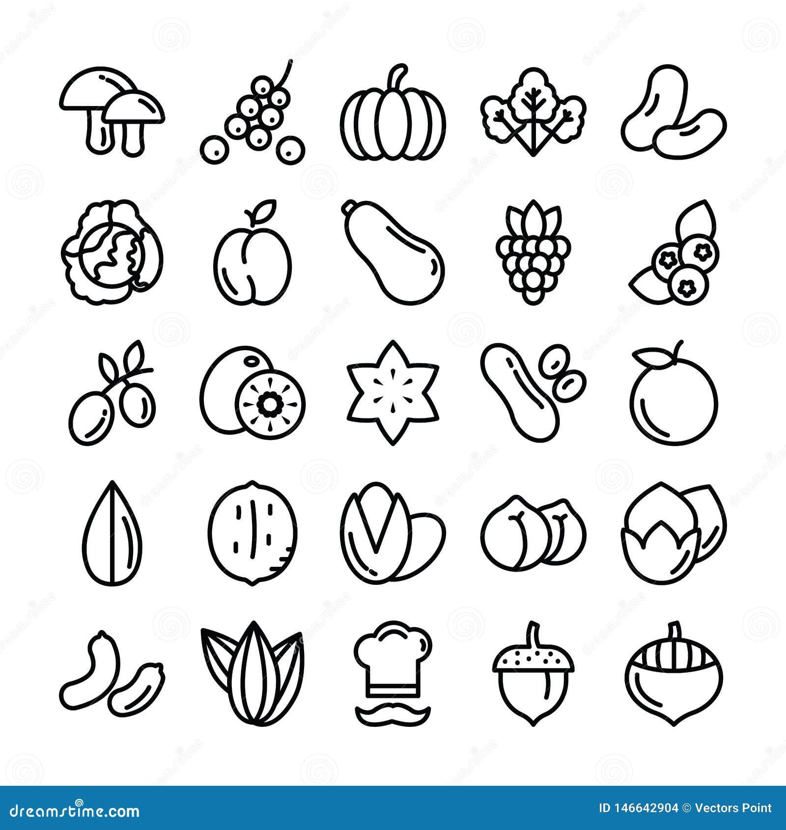 As frutas e legumes embalam