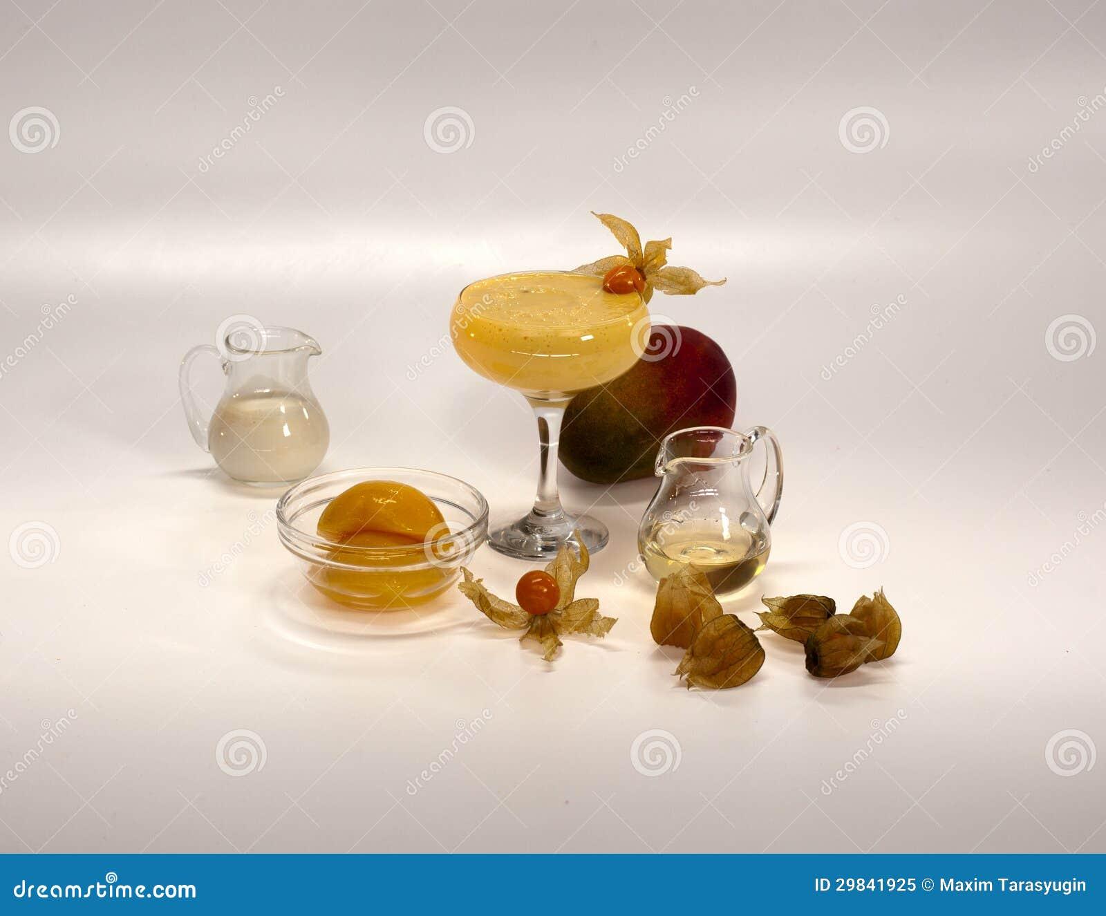 Ingredientes para cocktail não alcoólicos