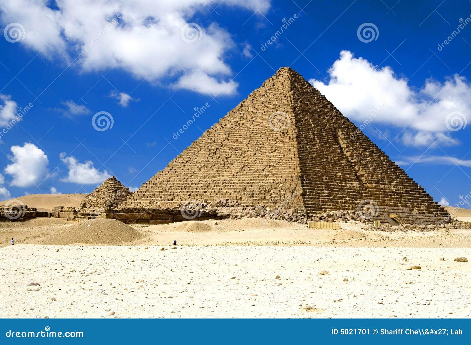 As grandes pirâmides egípcias