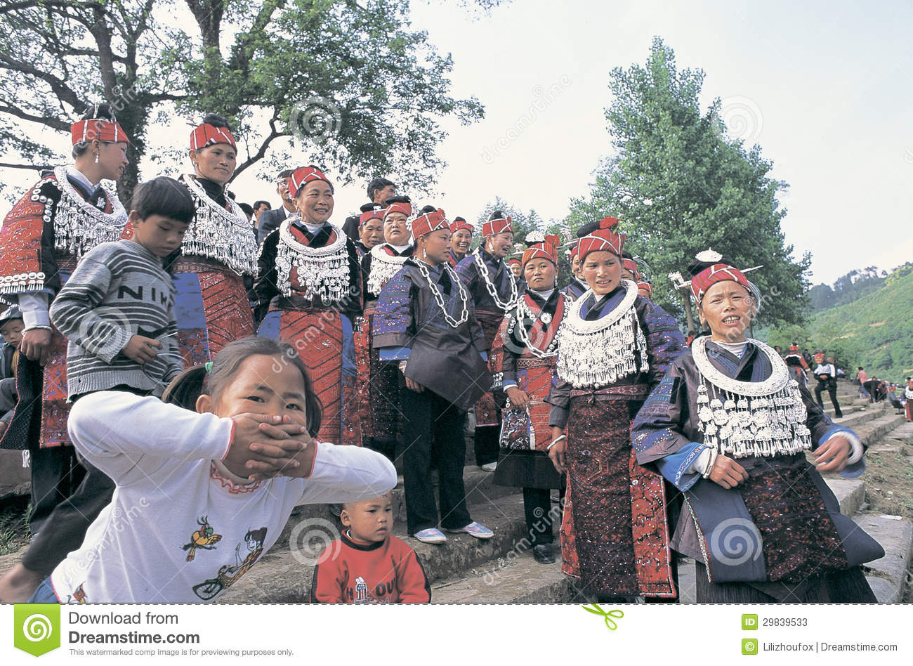Hmong no sudoeste China