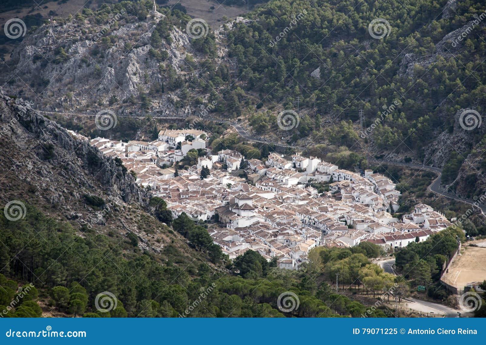 As municipalidades na província de Cadiz, Grazalema