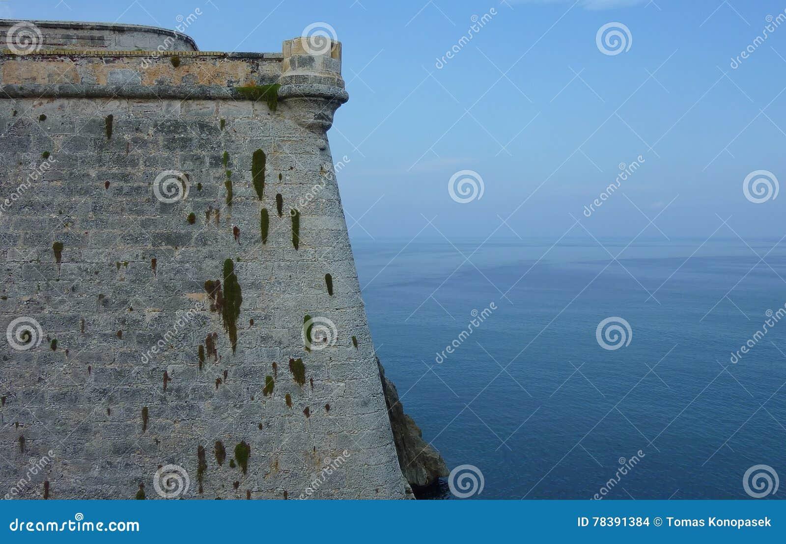 As paredes da fortaleza