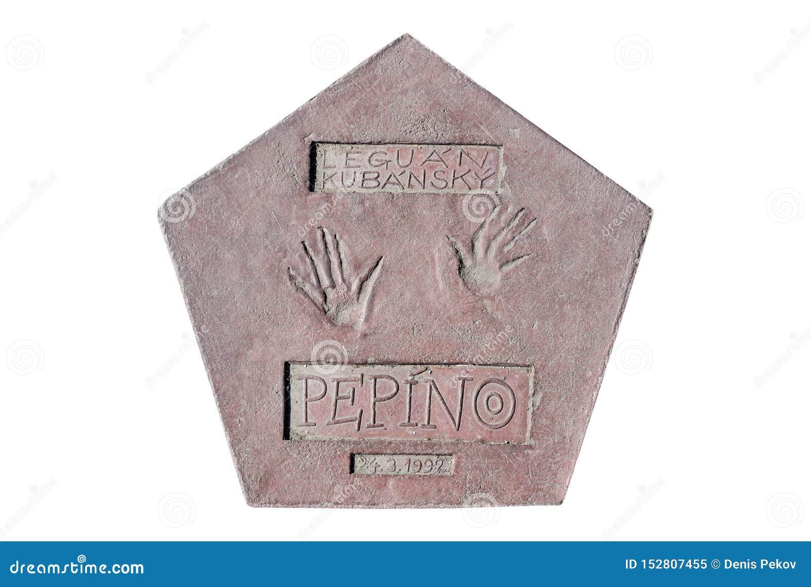 As pegadas de uma iguana nomearam Pepino