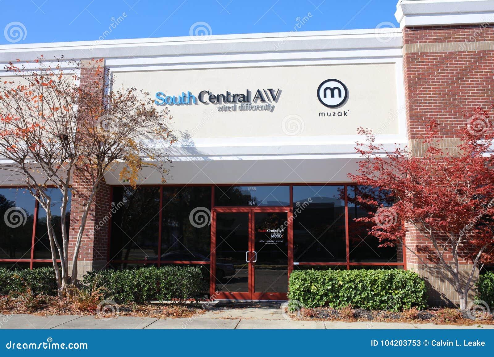 South Central AV, Memphis, TN Editorial Stock Photo - Image