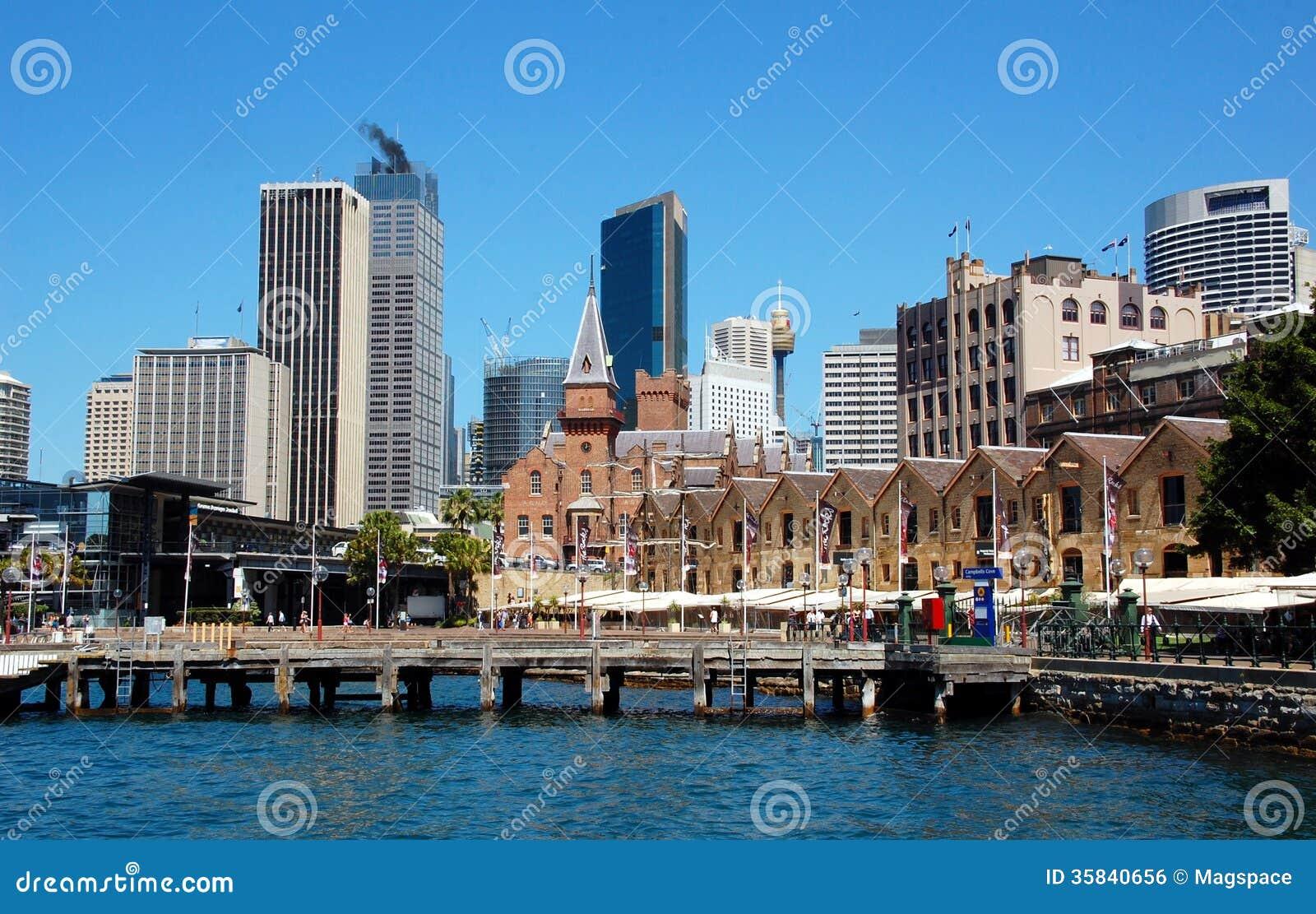 As rochas distrito, Sydney, Austrália