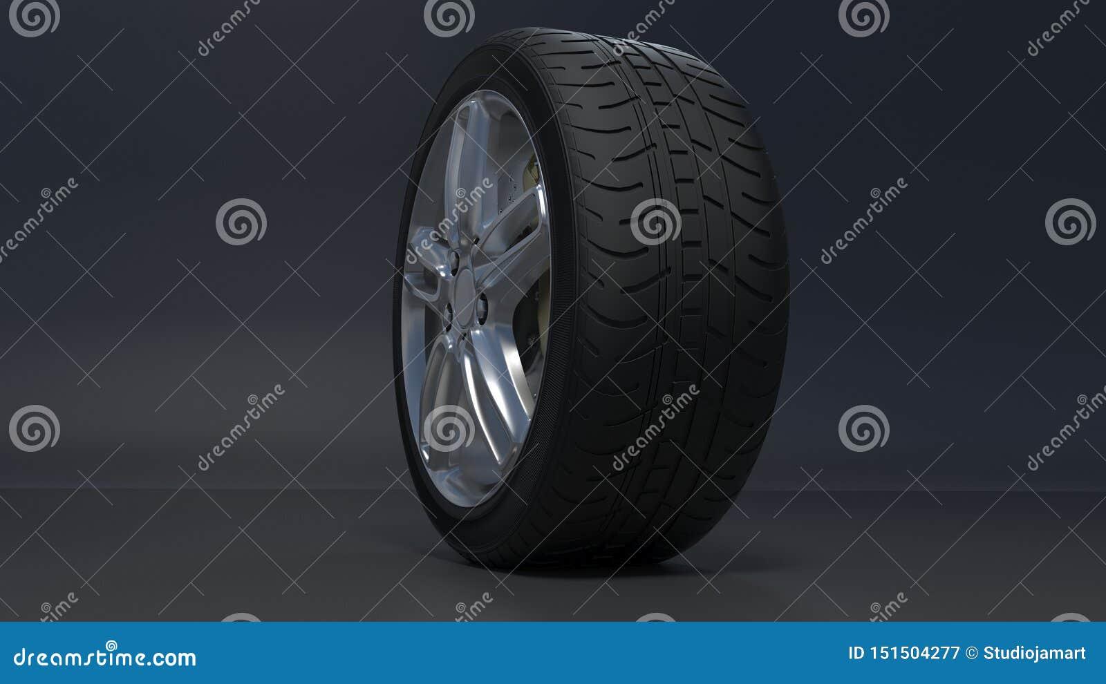 As rodas da liga ligam as rodas