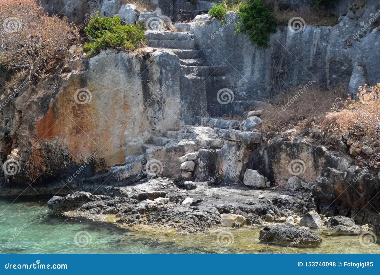 As ruínas da cidade de Mira, Kekova