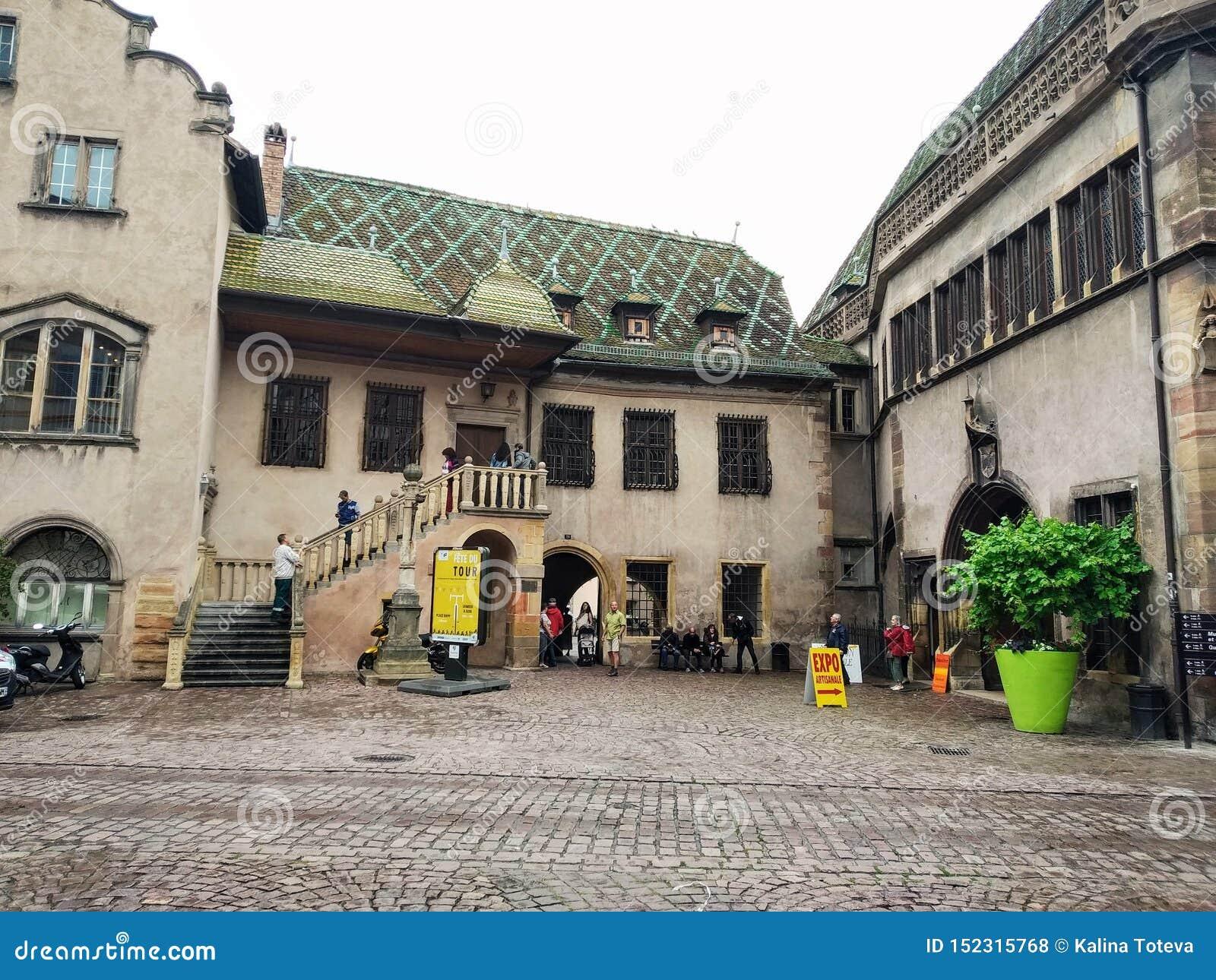 As ruas de Colmar, França Destinos pitorescos