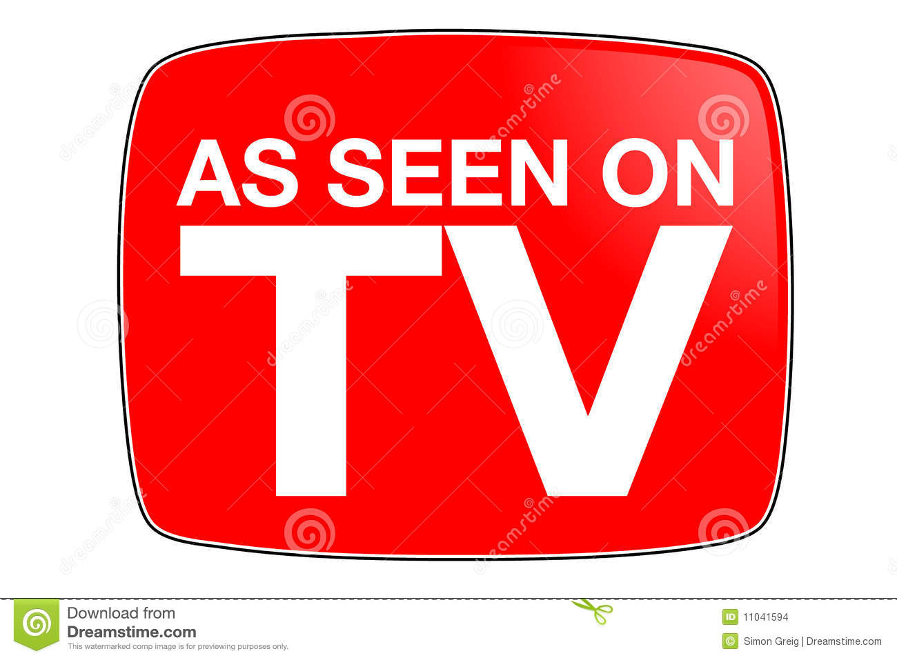 as seen on tv stock images   image 11041594