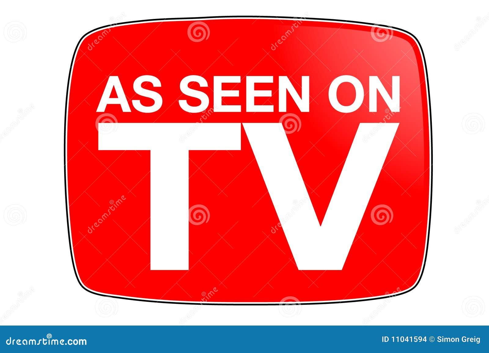 as seen on tv icon stock illustration illustration of icon 21905266