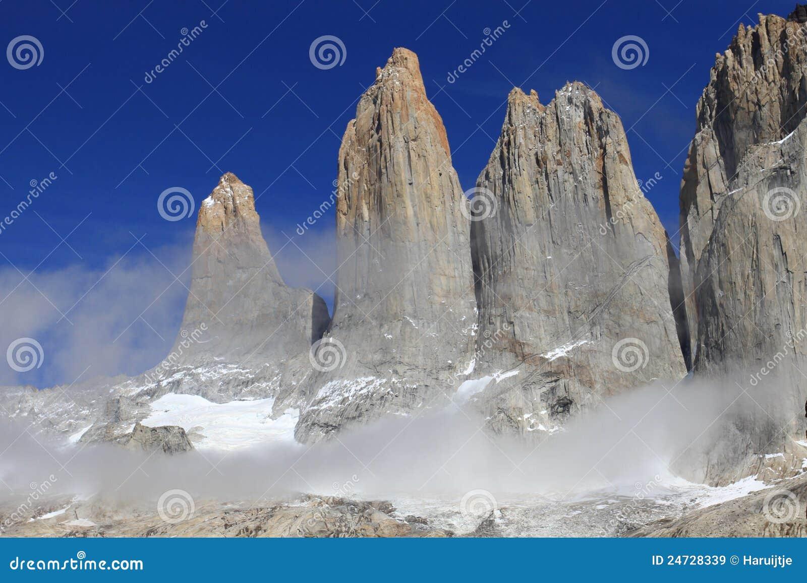 As três torres de Torres del Paine