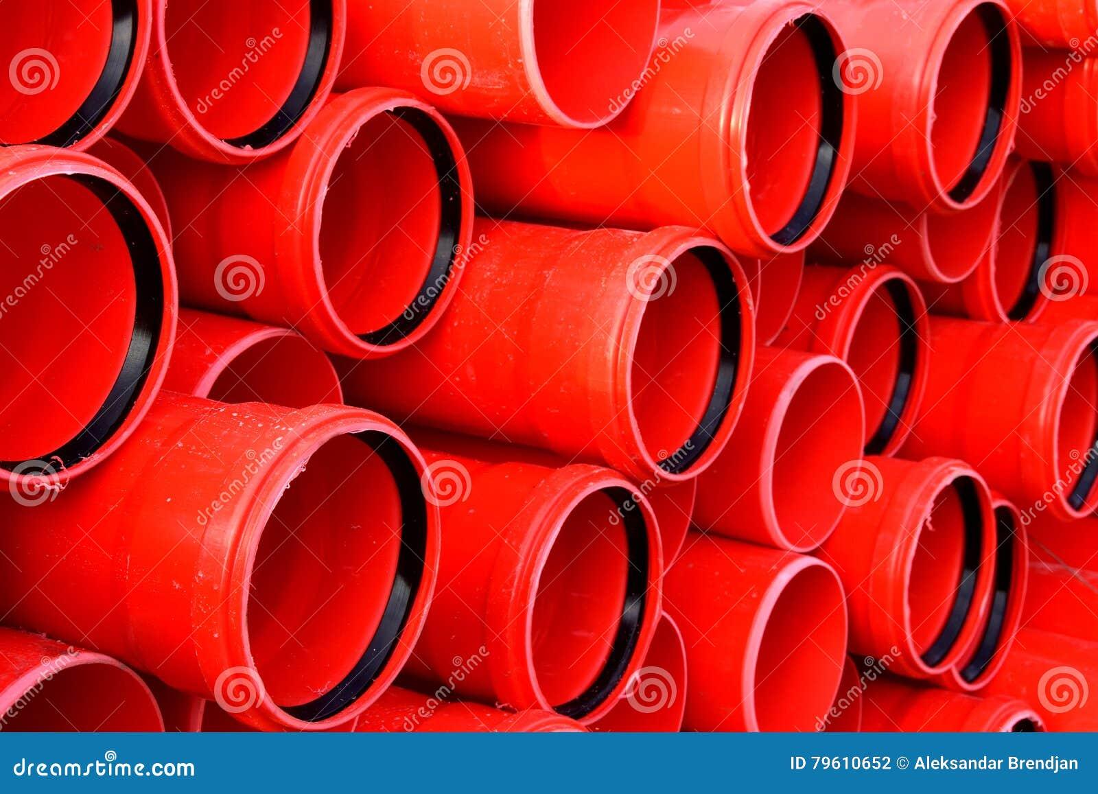 As tubulações para a indústria