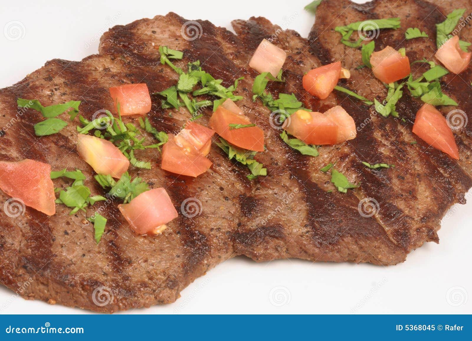 Asada mexicano do carne