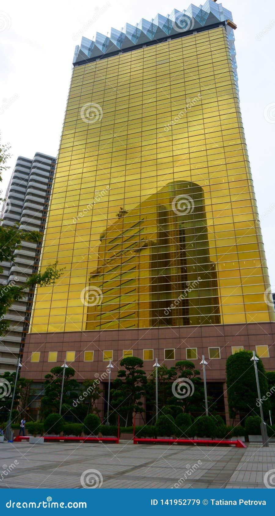 Asahi Beer Headquarters Edificio per uffici moderno