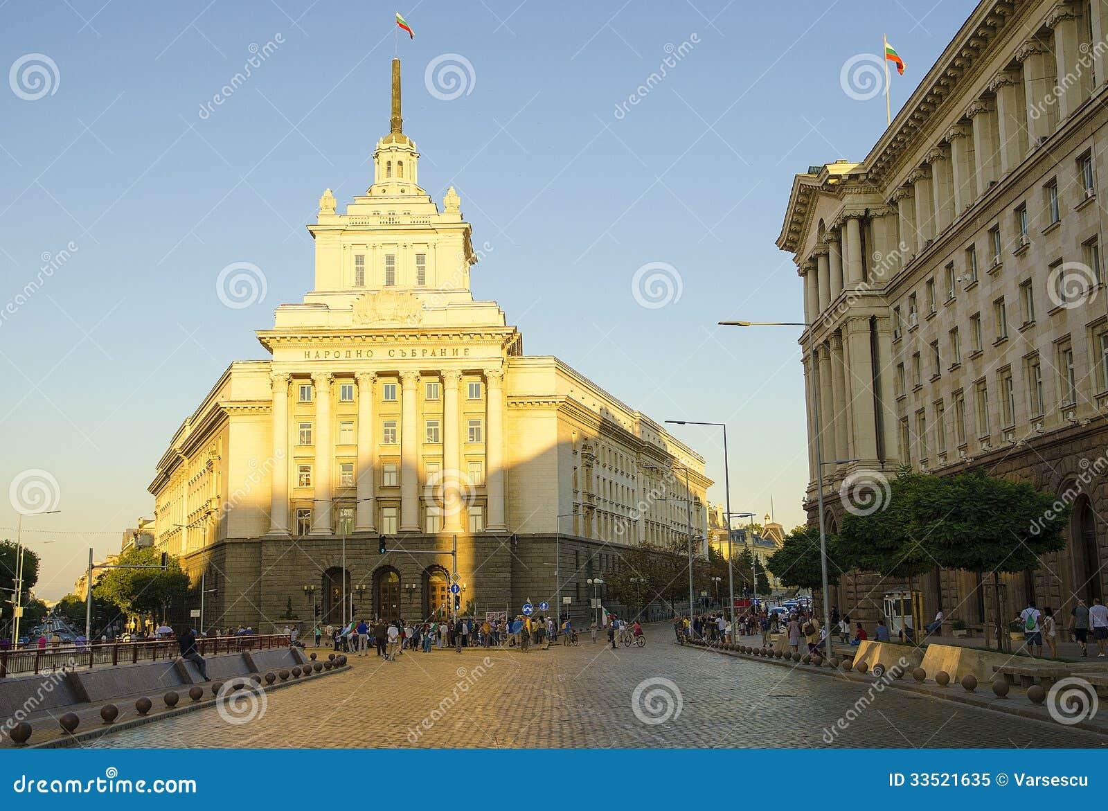 Asamblea nacional en Sofía