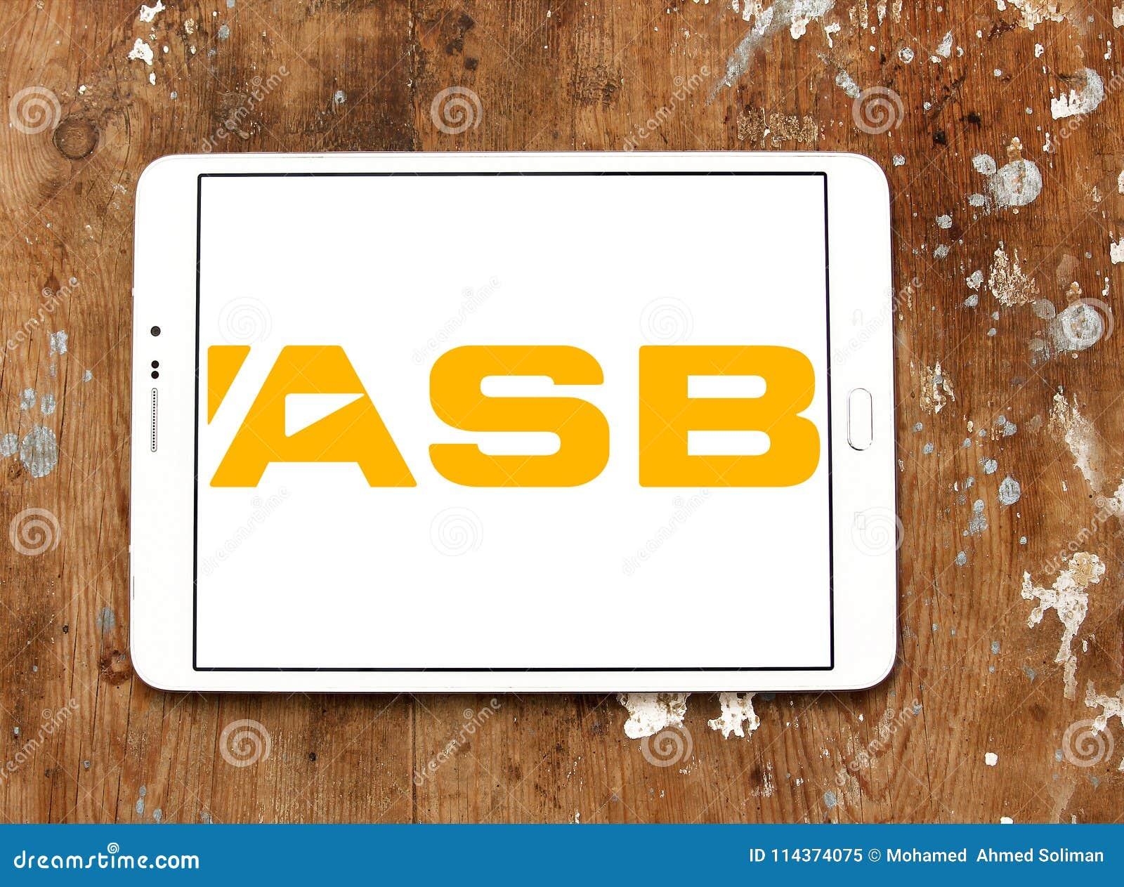 ASB Bank logo editorial image  Image of banks, company