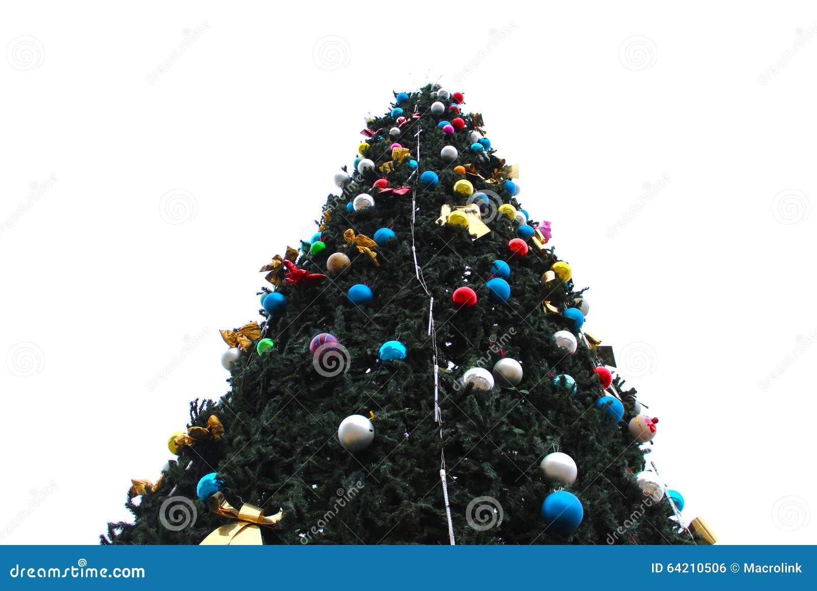 Ascendente cercano del árbol de navidad