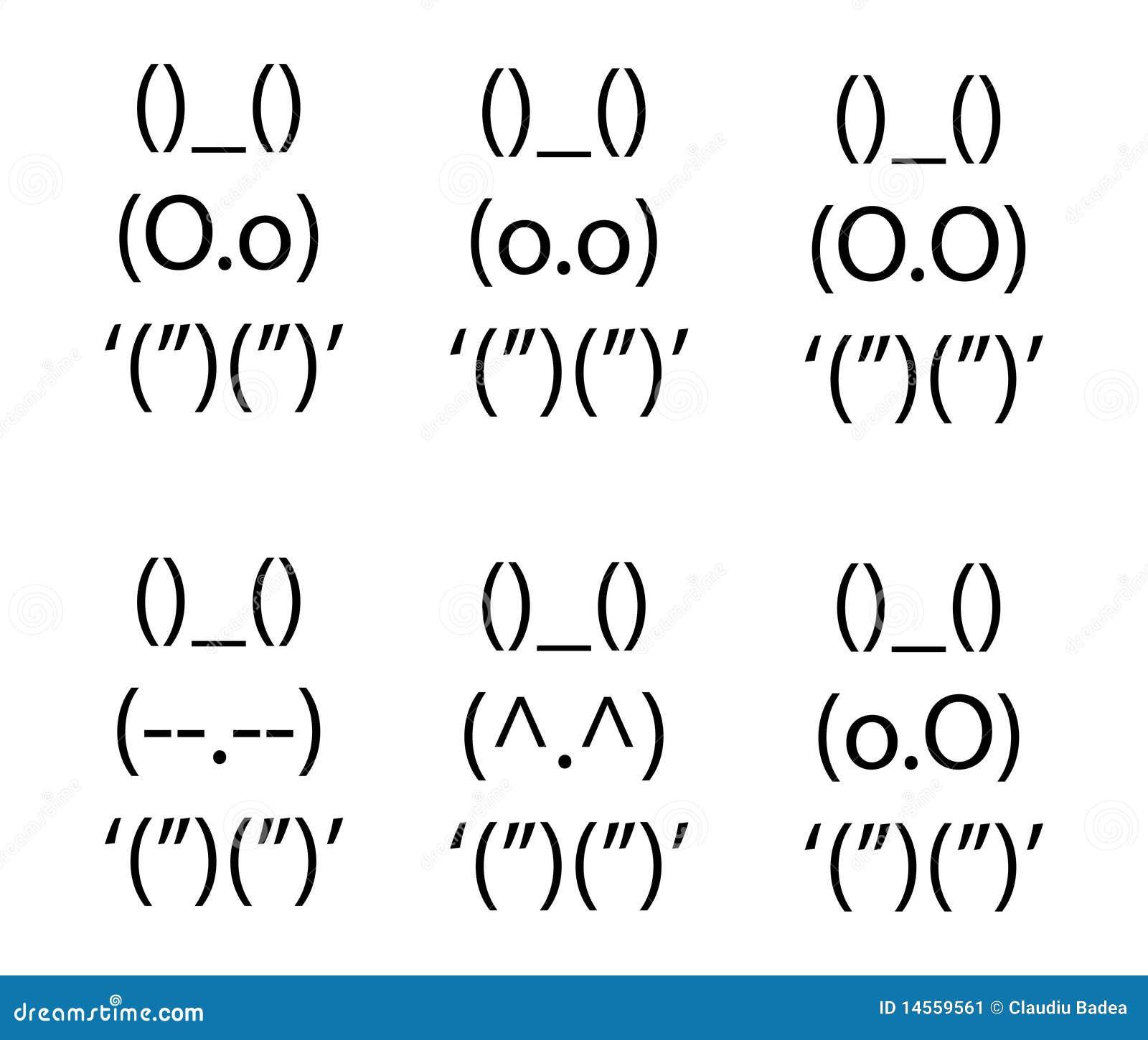 Cat Face Text Art