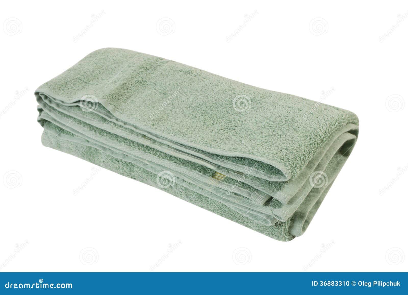 Download Asciugamano su bianco fotografia stock. Immagine di modello - 36883310
