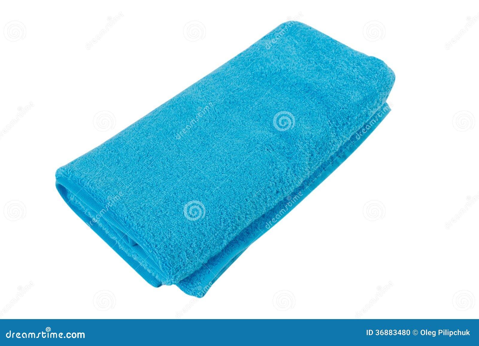 Download Asciugamano su bianco fotografia stock. Immagine di background - 36883480