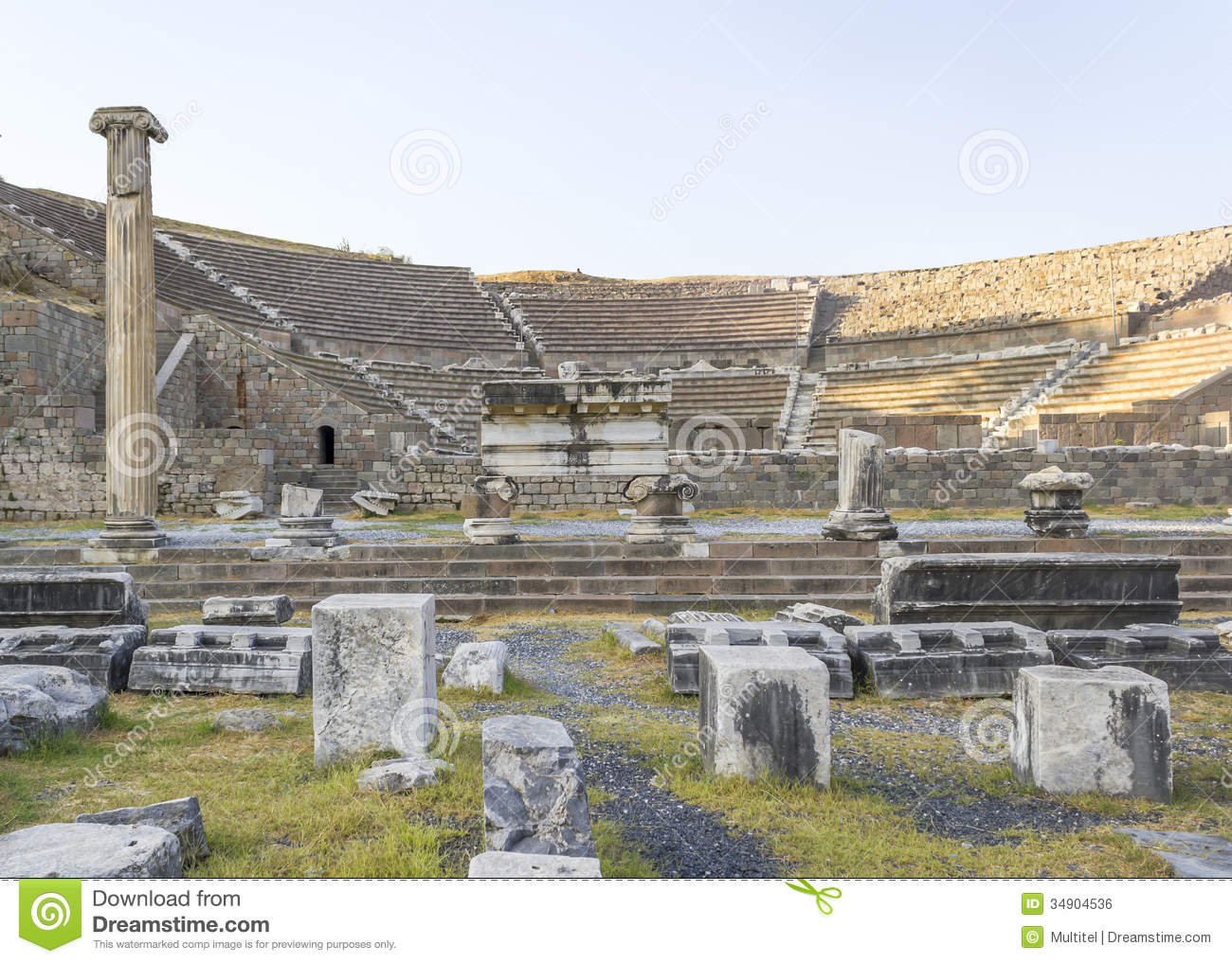 Selcuk Turkey  city pictures gallery : Asclepeion ancient city in Pergamon, Selcuk Turkey.