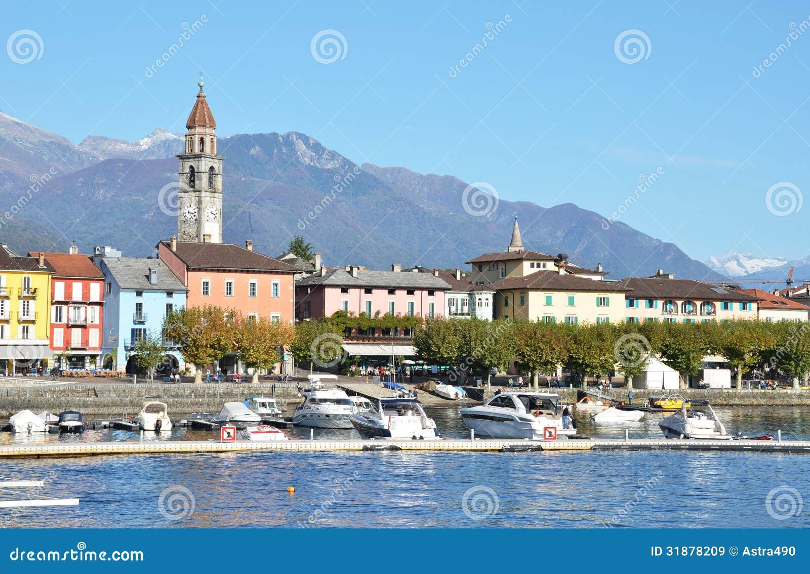 Ascona Switzerland  city images : Ascona, Switzerland Royalty Free Stock Images Image: 31878209