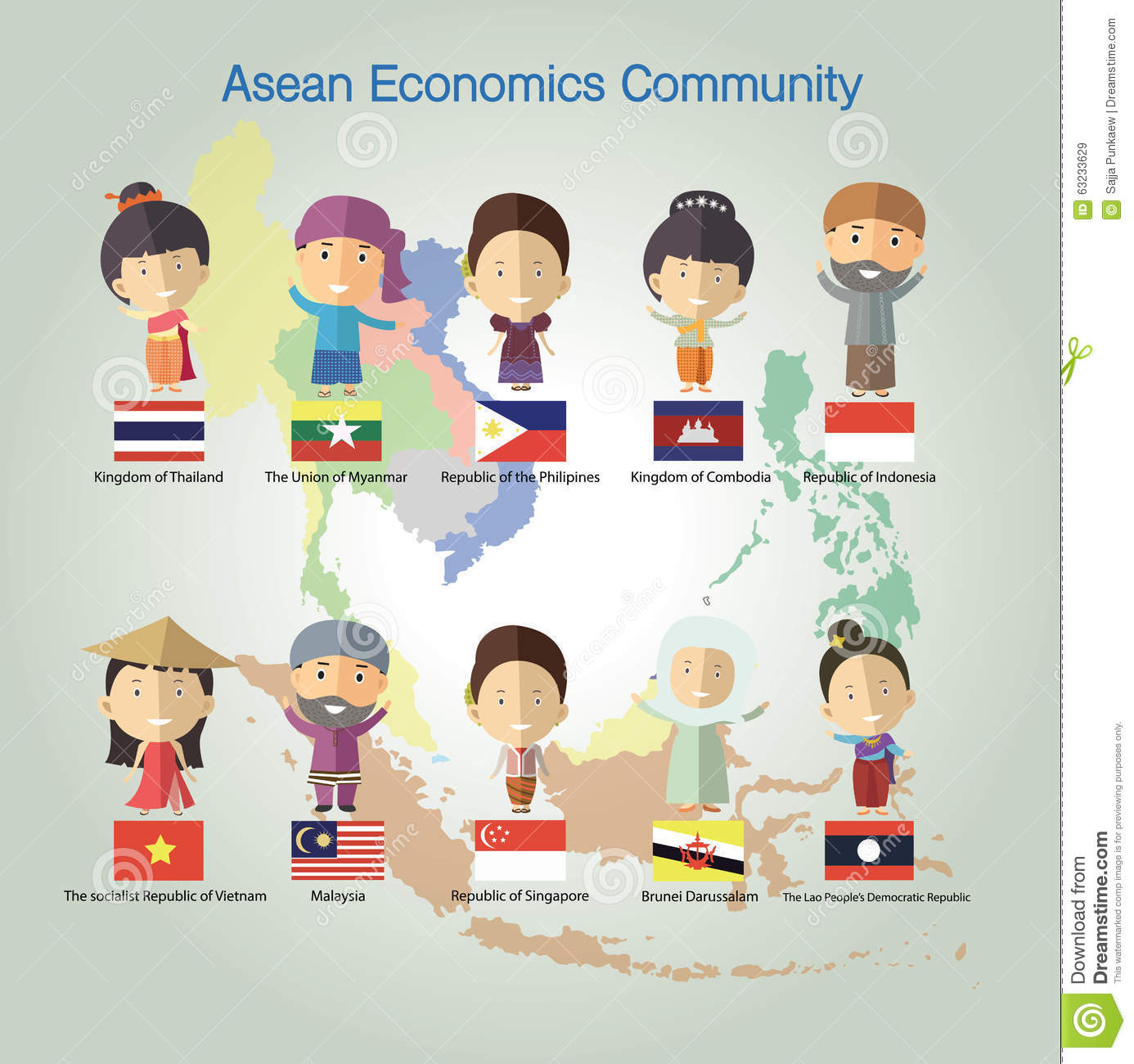 economics asean The asean economic community (aec) would establish free flows of goods,  services and foreign direct investment, as well as freer skilled labor and.