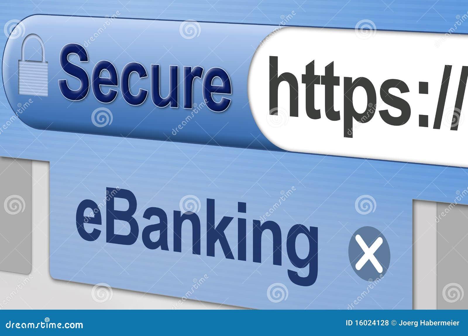 Asegure las actividades bancarias en línea - eBanking