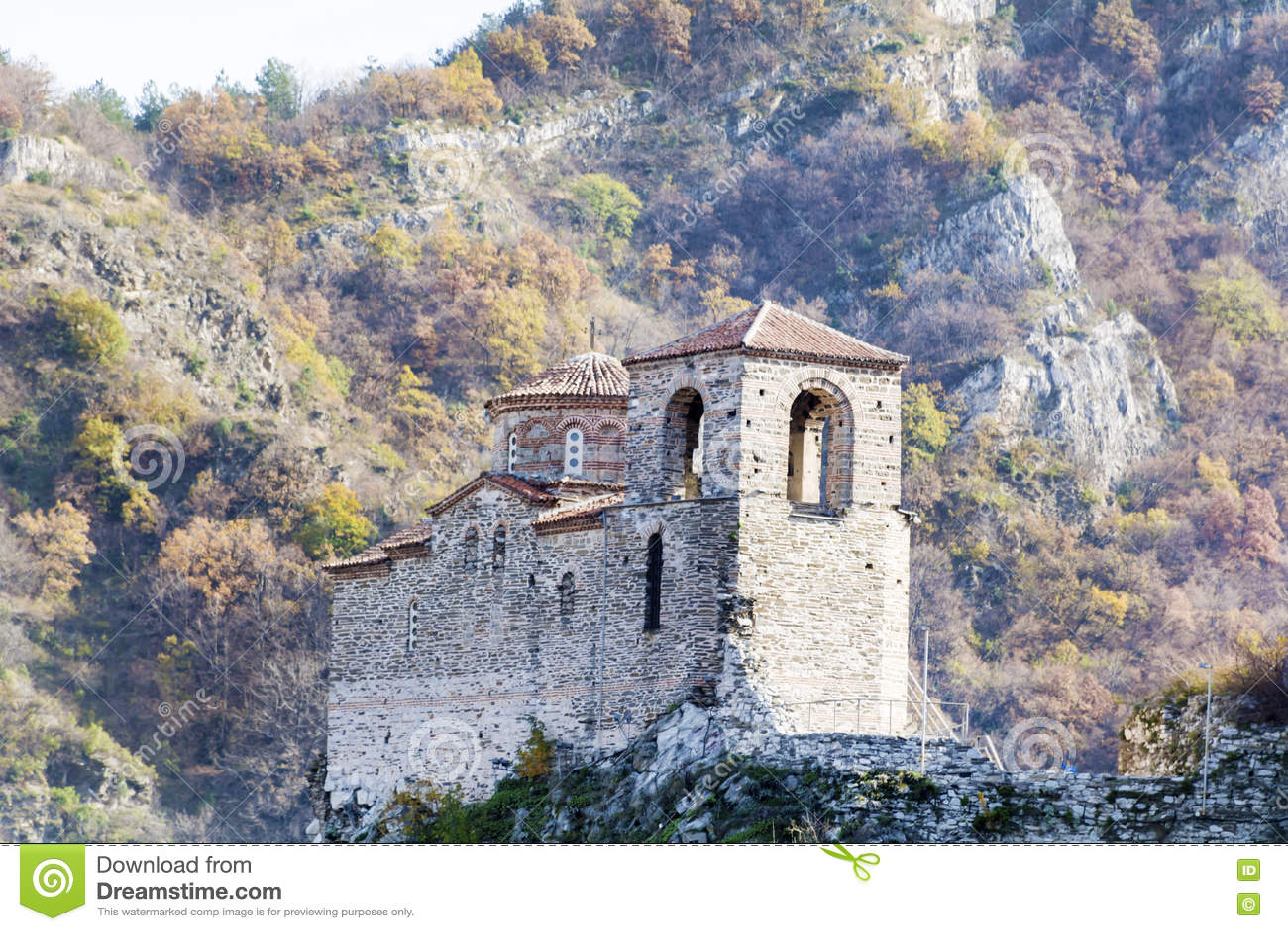 Asen s Fortress in Asenovgrad,Bulgaria