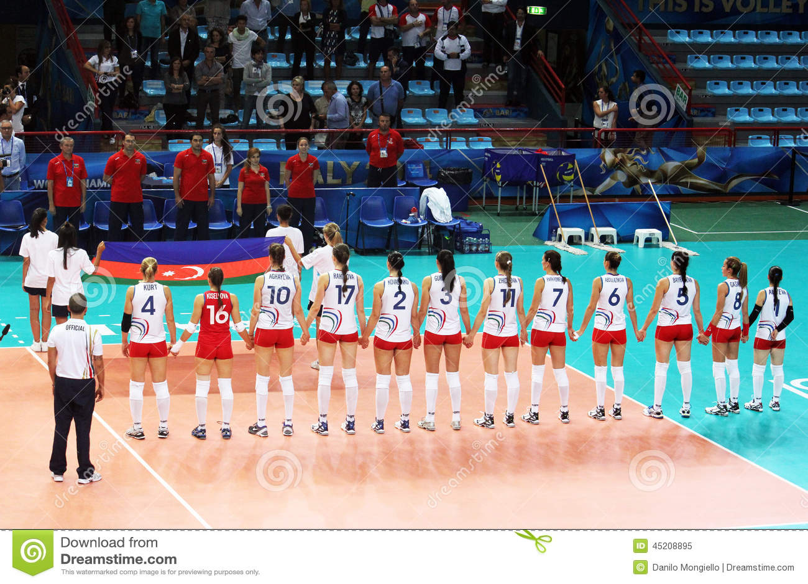 Aserbaidschan Hymne Redaktionelles Bild Bild Von Hymne 45208895