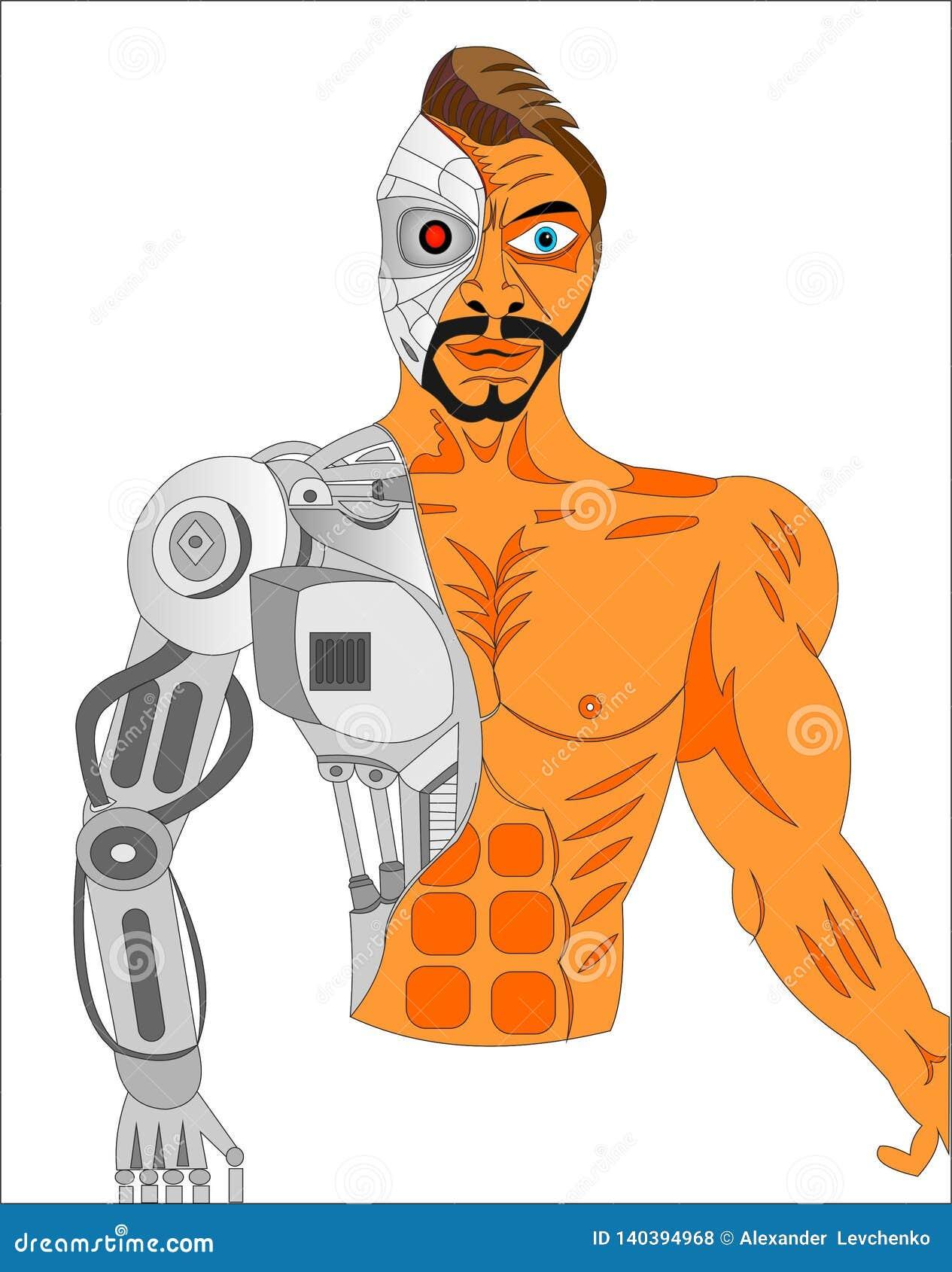 ASESINO DEL ROBOT DEL CYBORG