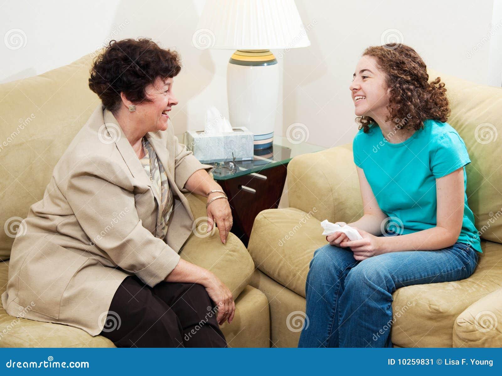 Asesoramiento - conversación cómoda