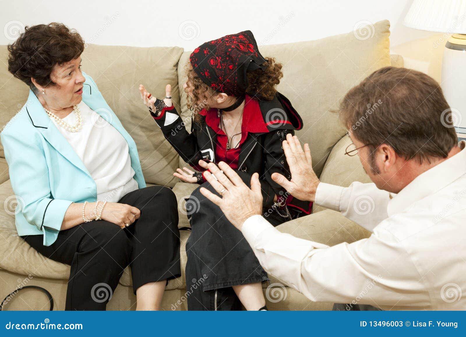 Contenido maduro de asesoramiento parental