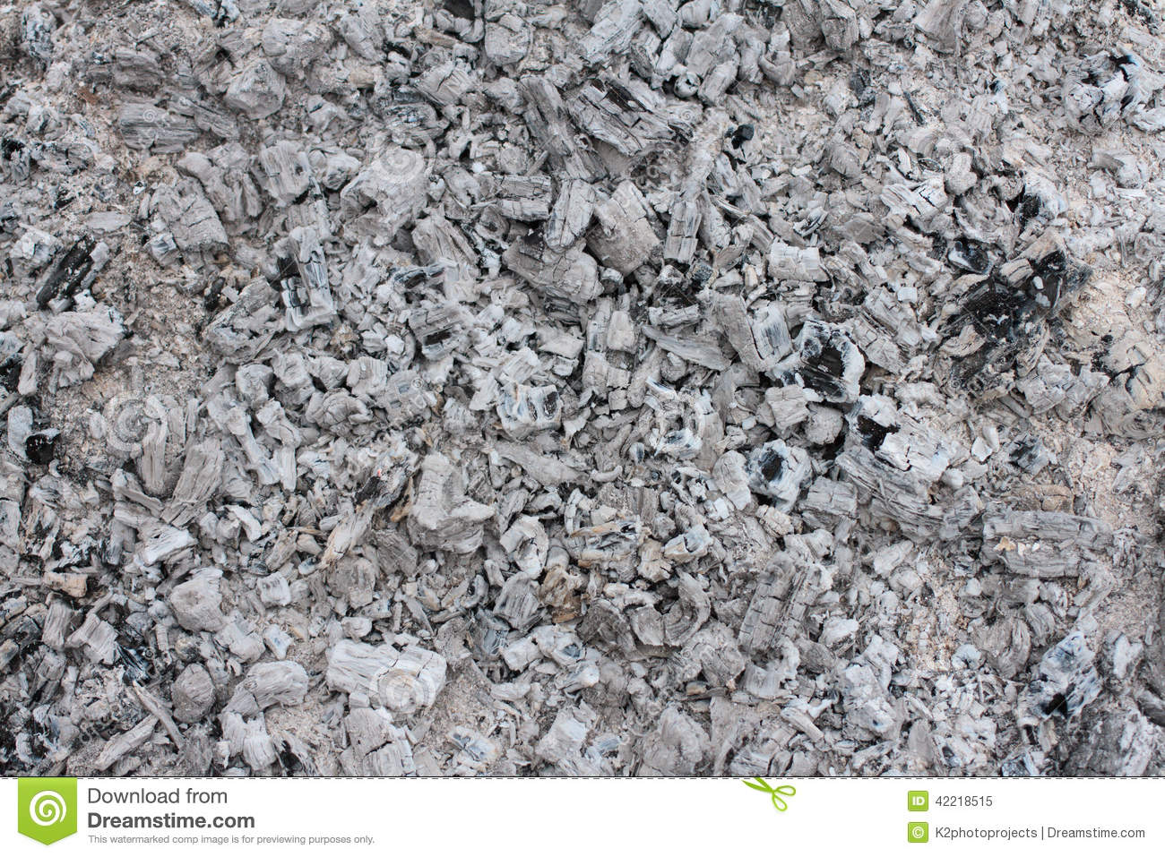 Ash From Coal ~ Ash from the fire stock image of warm burn coal