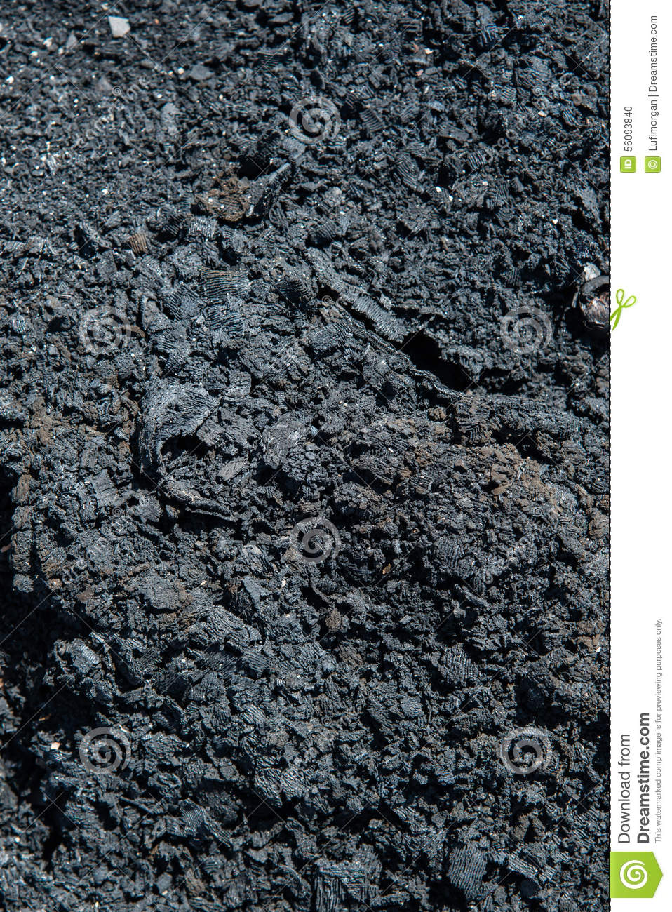 ash from the fire stock photo image 56093840