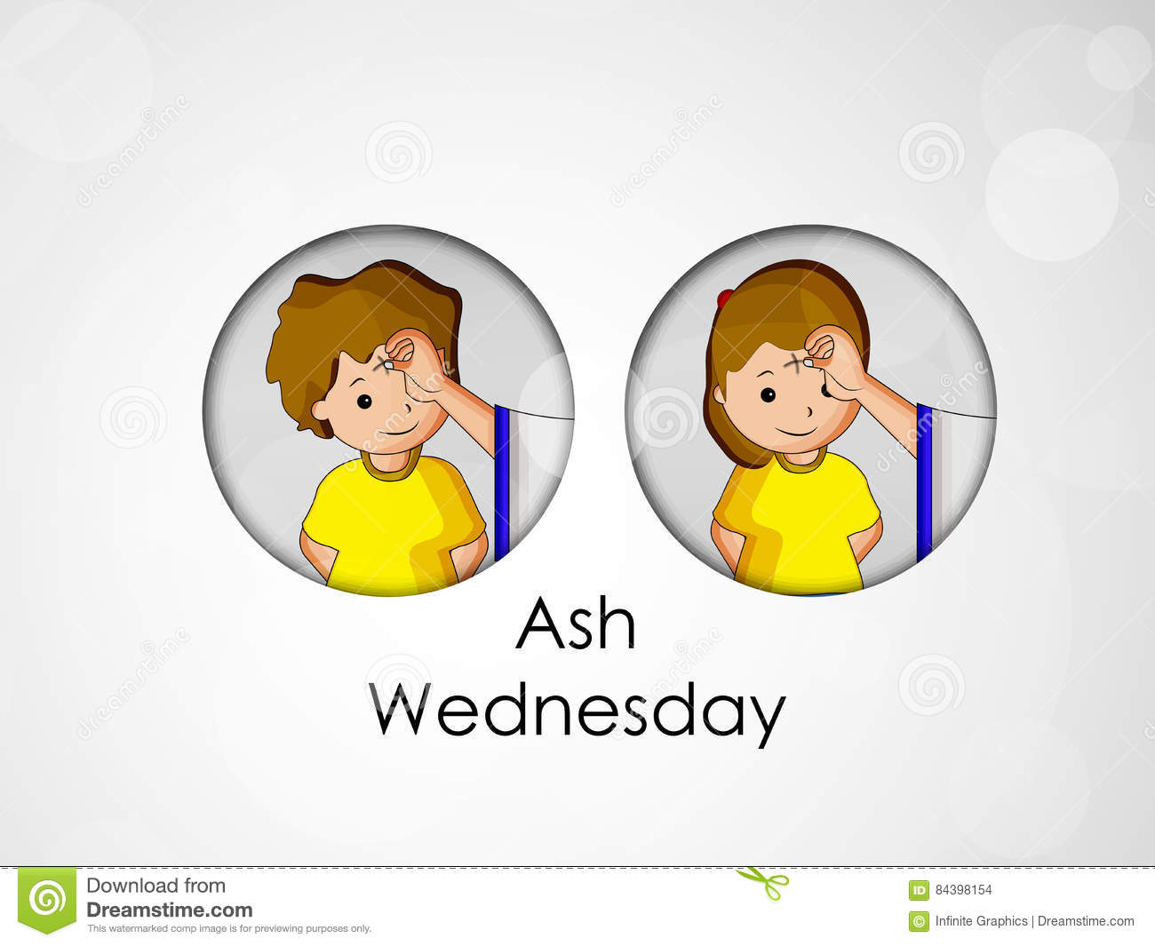 Ash Wednesday Background
