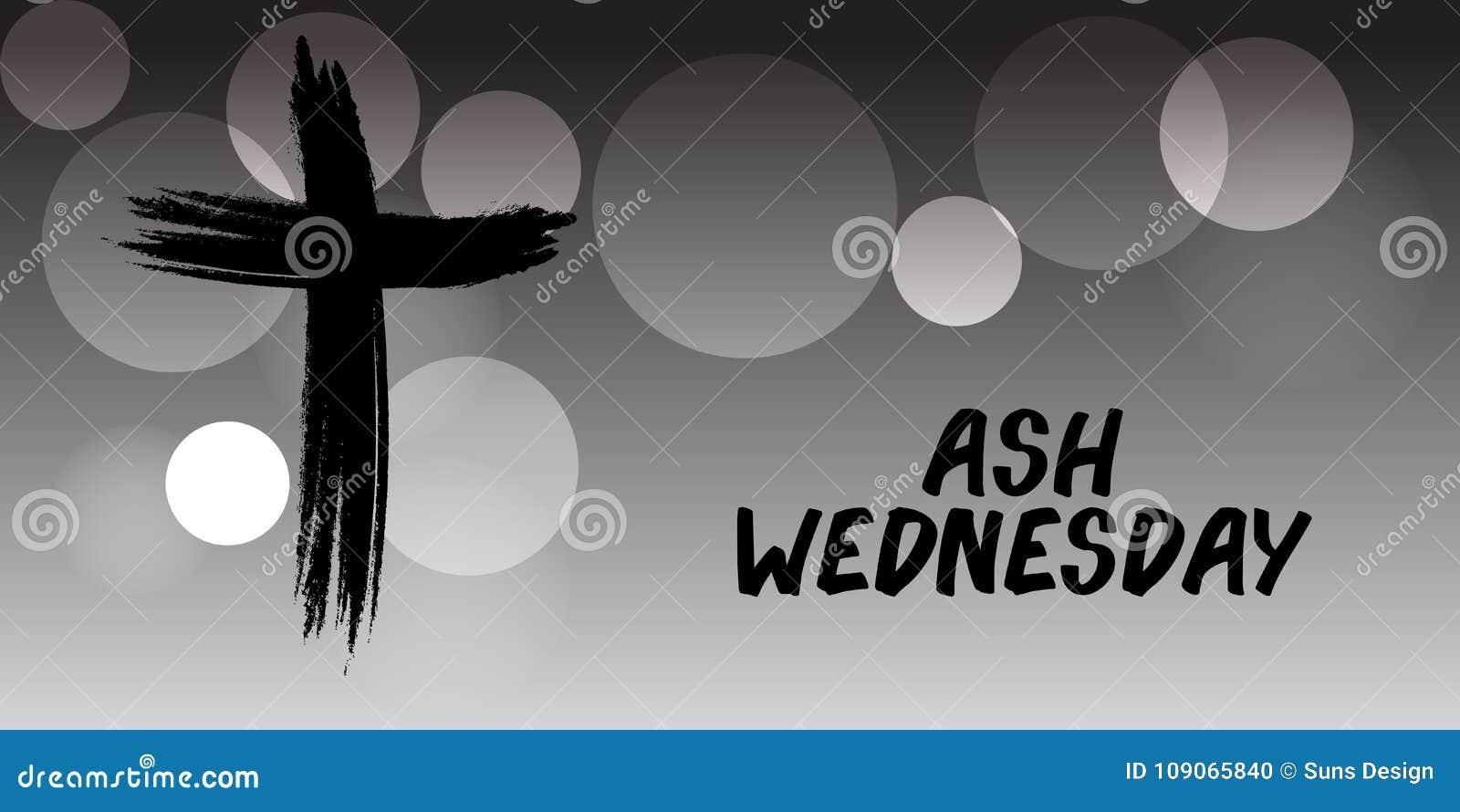 Ash wednesday stock illustration illustration of sign 109065840 ash wednesday buycottarizona Image collections