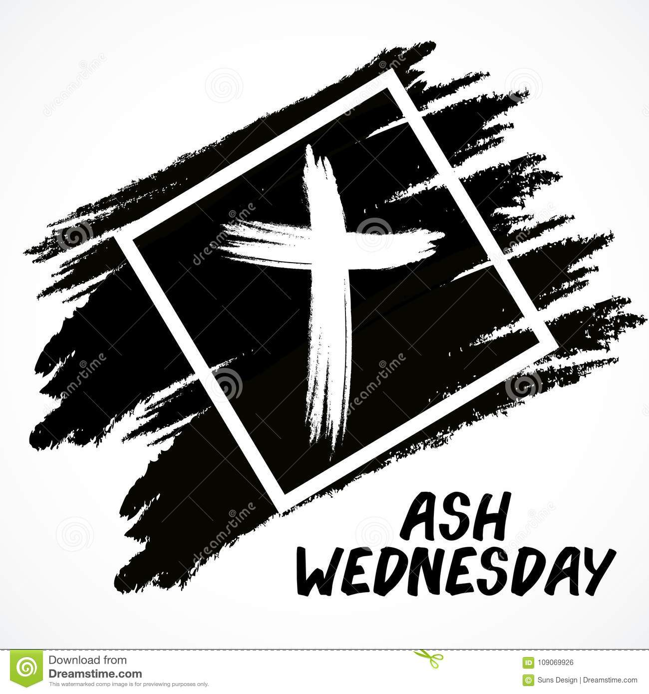 Ash wednesday stock illustration illustration of religion 109069926 ash wednesday religion cross buycottarizona Image collections