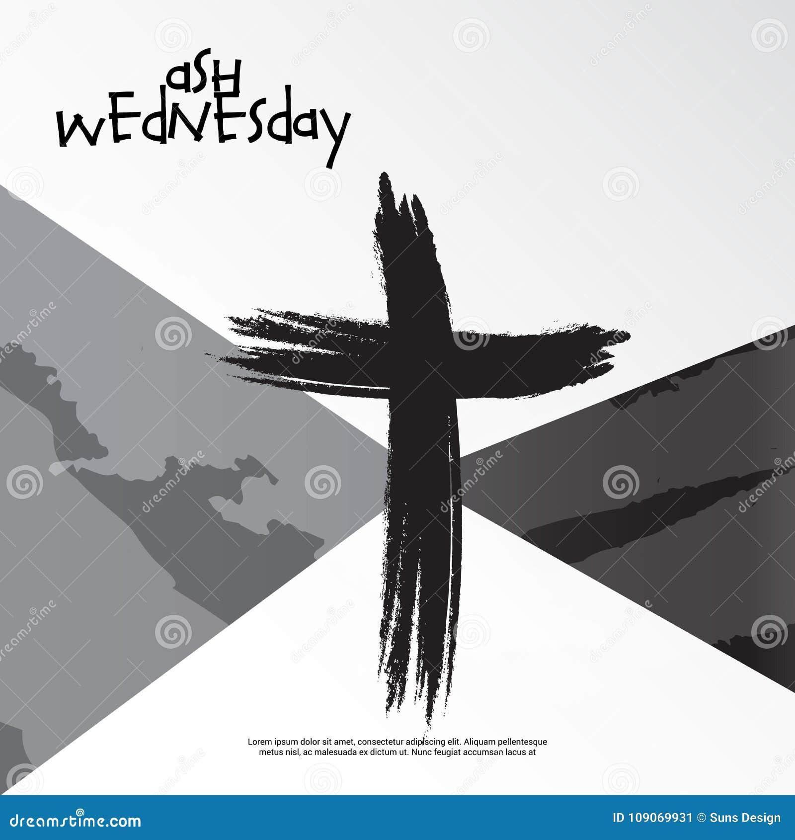 Ash wednesday stock illustration illustration of divine 109069931 ash wednesday divine christian buycottarizona Image collections