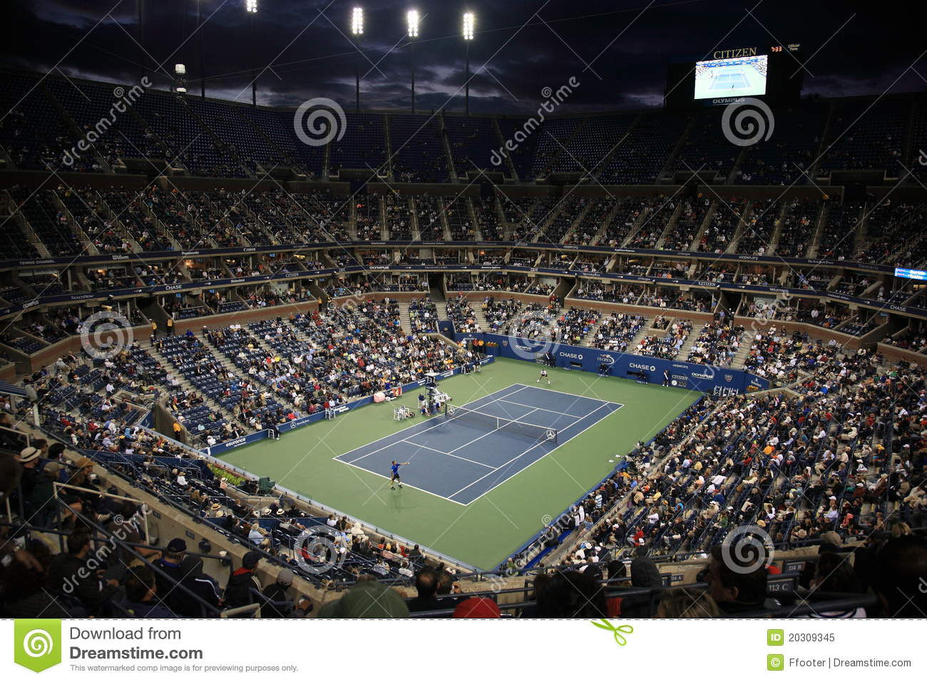 Ashe otwarty stadium tenis my